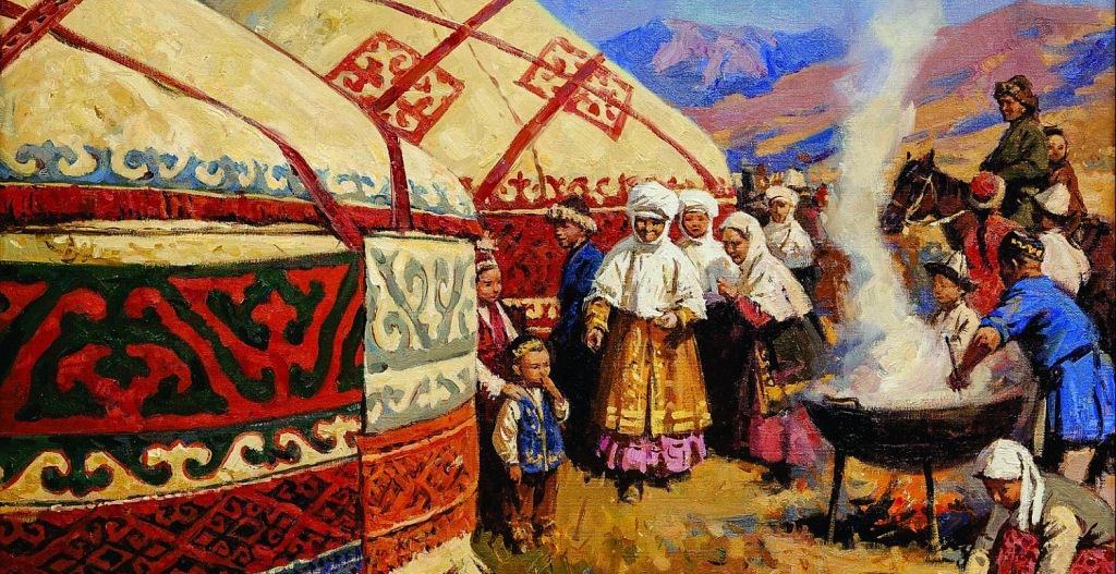 казахские обряды в картинках ягодицах